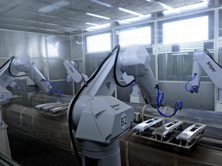 机器人涂装设备
